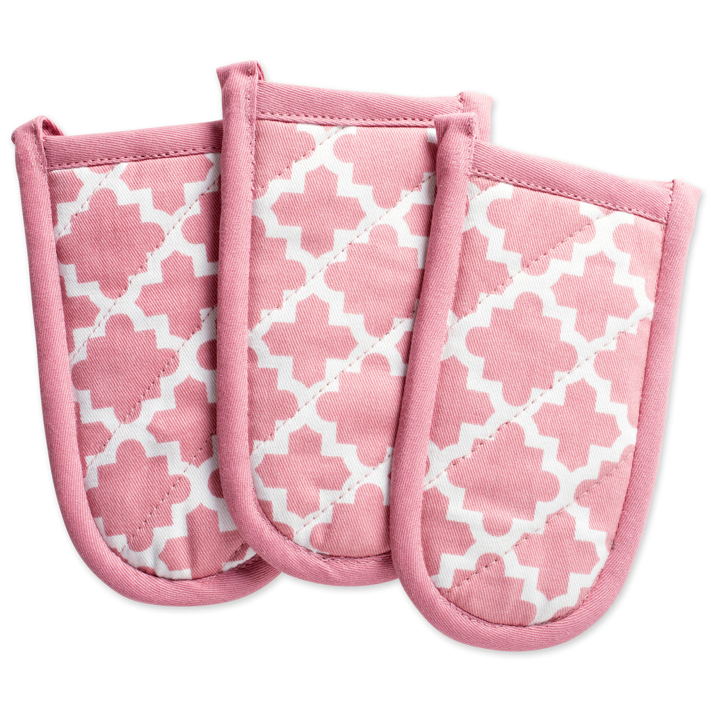 Rose Lattice Panhandle Set/3