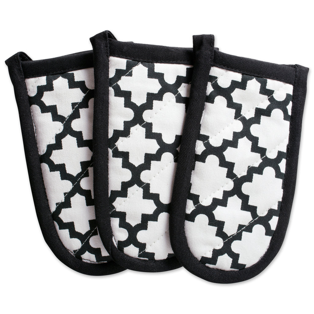White Lattice Panhandle Set/3