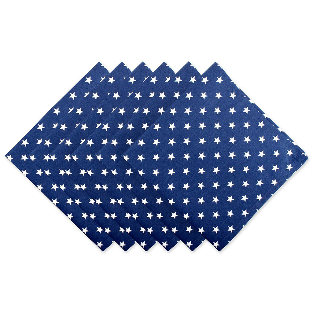 Patriot Stars Napkin Set/6