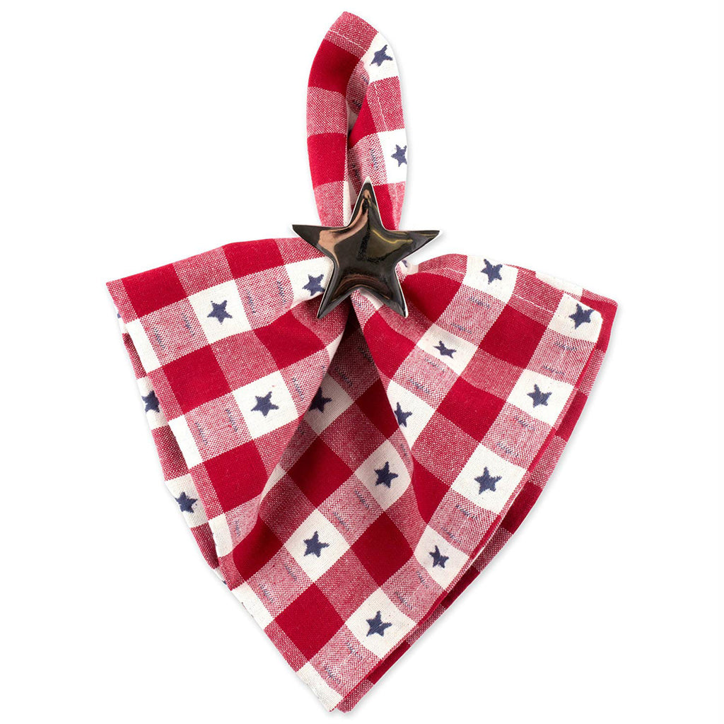 DII Star Check Napkin (Set of 6)