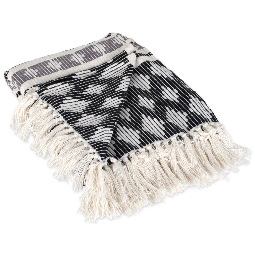 Black/Gray Colby Southwest Throw