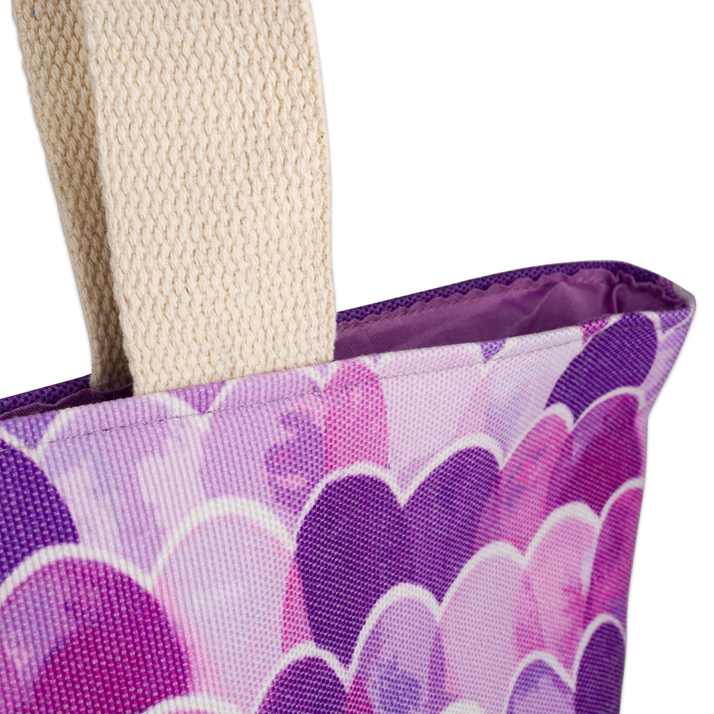 DII Purple Mermaid Jute Bag