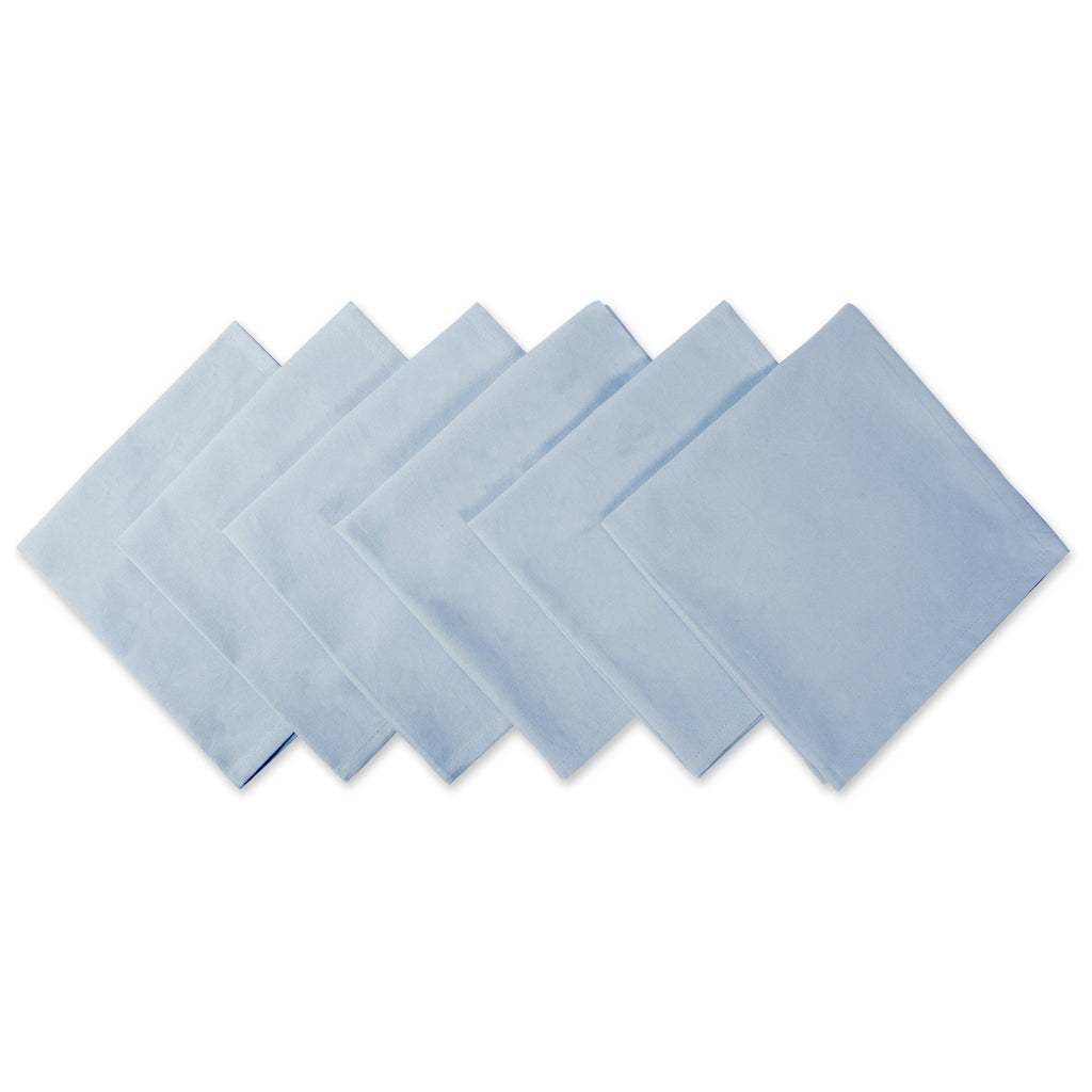 Light Blue Napkin Set/6