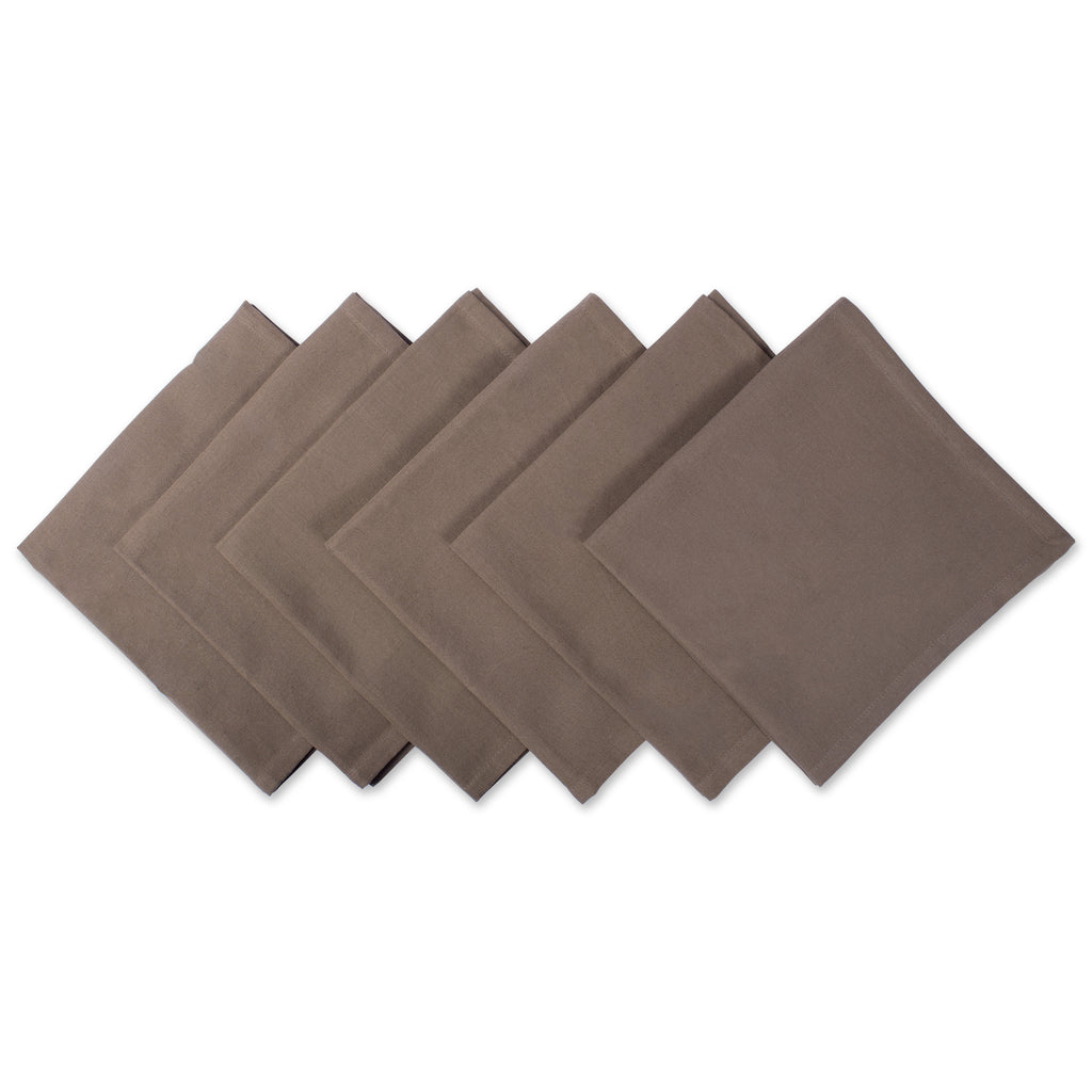 Napkin Brown S/6