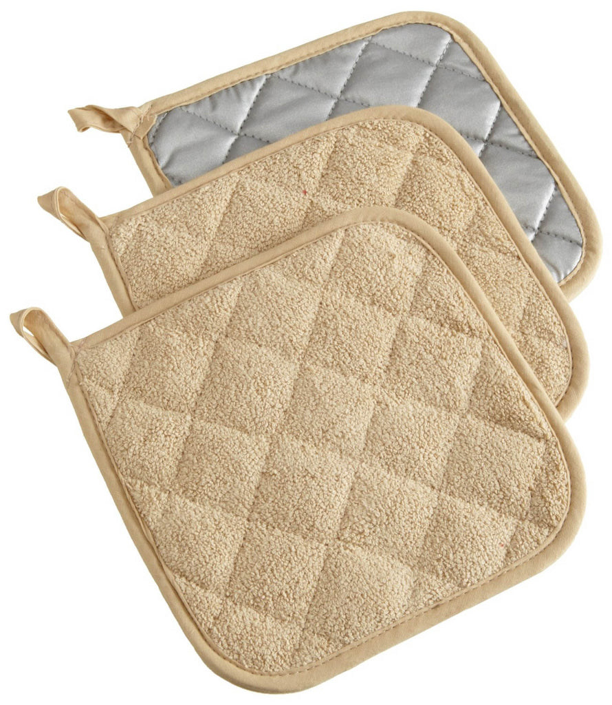 Pebble Terry Potholder Set/3