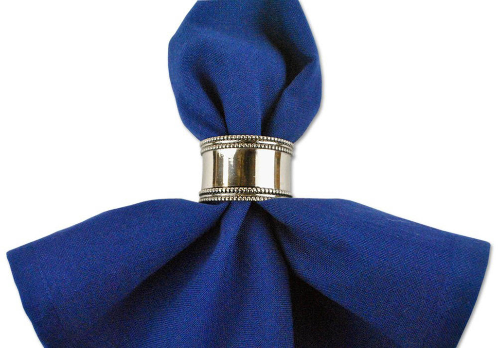 DII Silver Band Napkin Ring (Set of 12)