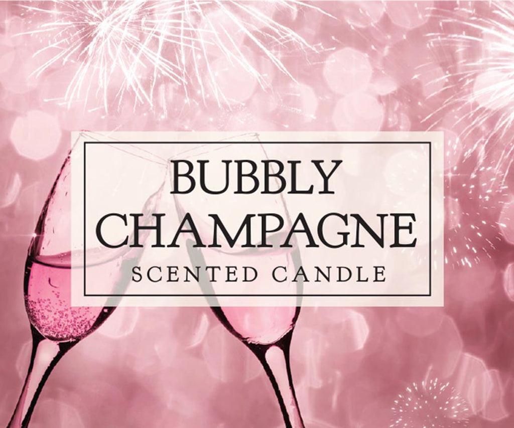 DII Bubbly Champagne Candle