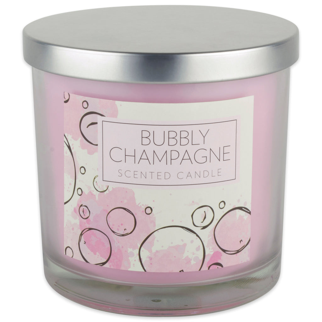Bubbly Champagne Candle