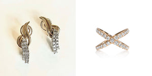 Jewelry Redesign Story #33: Her Grandmother's Earrings Become My First Post-Baby Redesign