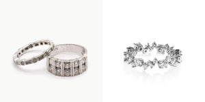 Jewelry Redesign Story #30: Delicate Diamond Rings: When Two Become One