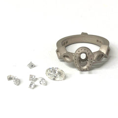 custom jewelry, jewelry design, casting