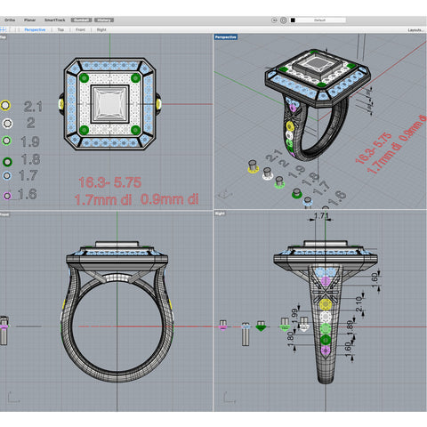 3D CAD, jewelry rendering, jewelry design, custom jewelry, jewelry makeover