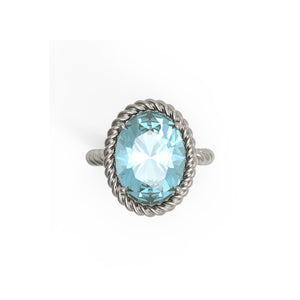 Aquamarine Ring Design 1