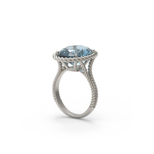 Aquamarine Ring Design 2