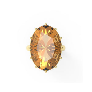 Citrine Ring Design 1