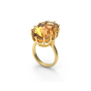 Citrine Ring Design 2