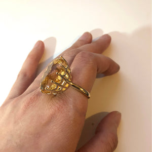 Citrine Ring Design 1 - Final