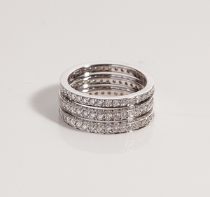 Allyson -Diamond rings and daughter's ring - 30% remaining