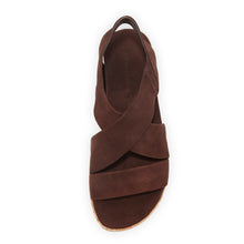 Bernardo Chocolate Brown Suede Sandals Size 5.5 -$198