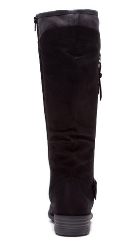 Cobb Hill Bridget Women's Black Leather Riding Boots SZ 7
