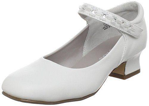 Jumping Jacks Juliette Girls White Mary Jane Dress Shoes
