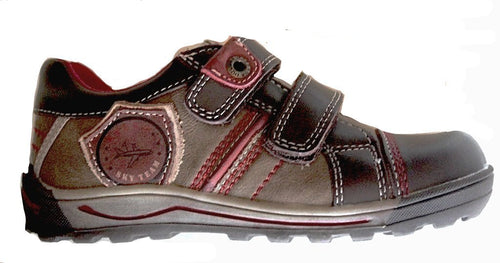 Beeko Gideon Boys Brown Leather School Casual Shoes
