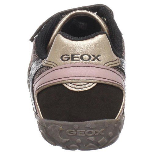 Geox Kyras Girls Brown Pink Sneakers SZ 10.5 (Little Kid)