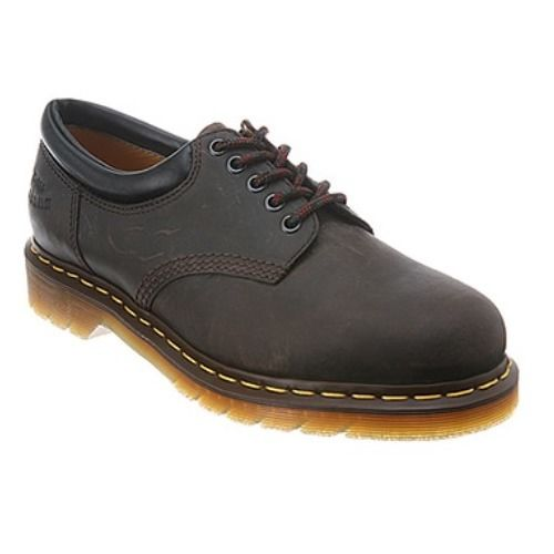 Dr. Martens Crazyhorse Men's Brown Leather Oxfords SZ 8
