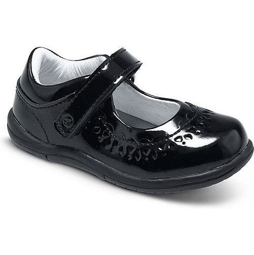 Stride Rite Cora Girls Black Patent Leather Dress Shoes