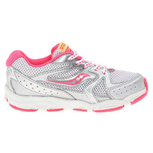 Saucony Cohesion 6 Girls White Pink Running Shoes