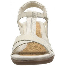 Hush Puppies Natasha Russo Women's Off White Leather Sandals
