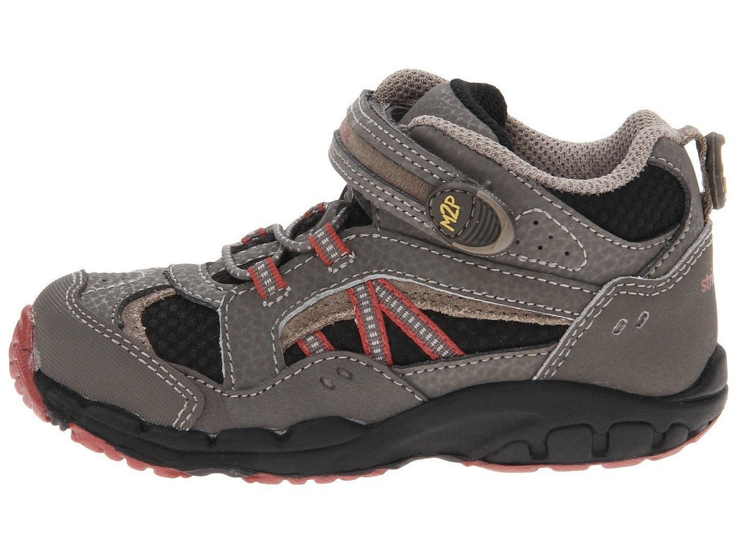 Stride Rite Baby Fleet Boys Brown Leather & Suede Shoes