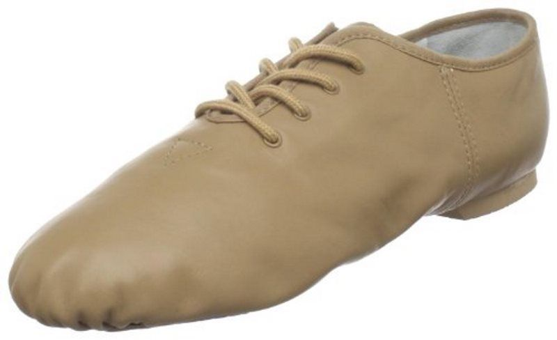 Dance Class J203 Women's Carmel Leather Jazz Oxford Shoes