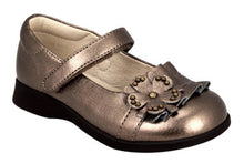 Nina Celine Girls Bronze Gold Mary Jane Dress Shoes