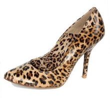 Miucha Aline Women's Leopard Leather Pumps