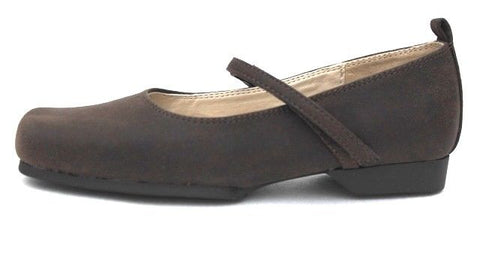 Nine West Nkhalia Girls Brown Dress Casual Shoes SZ 12.5