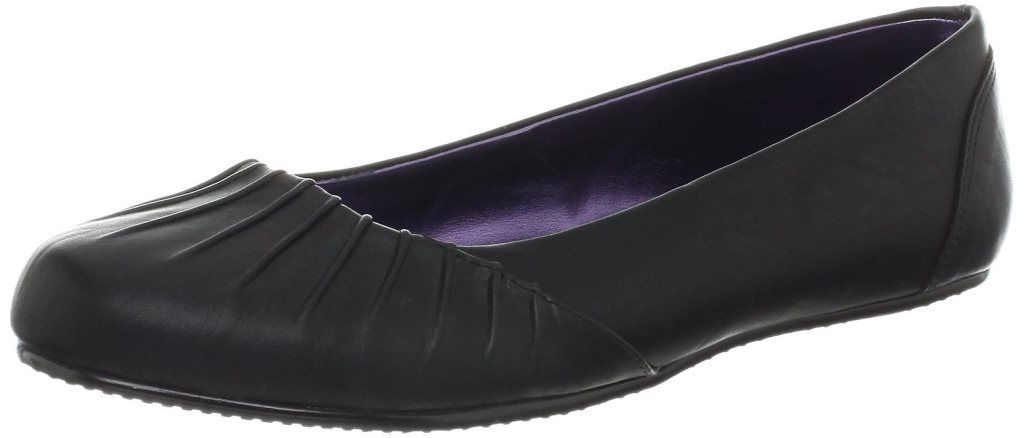 Jessica Simpson Kamell Girls Black Ballet Flats Shoes Size 13 (Little Kids)