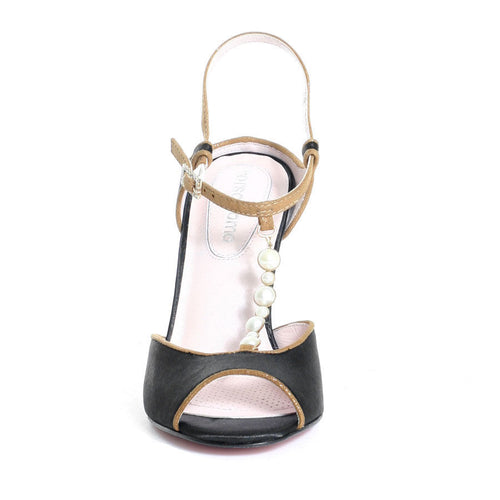 Corso Como Pryor Women's Black Dress Sandals SZ 8