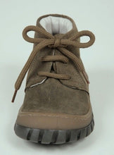 Shoe Be Doo Boys Beige Suede Premium Lace Shoes ITALY