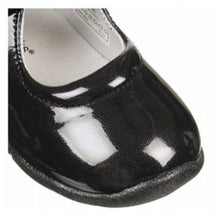 Jumping Jacks Stacy Girls Black Patent Leather Mary Jane Dress Shoes
