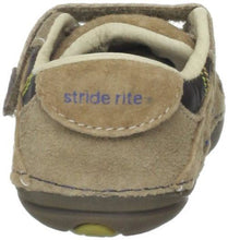 Stride Rite Colin Infant Boys Brown Leather Shoes SZ 3 M