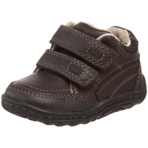 Stride Rite Pierce Boys Brown Leather Boots SZ 6.5 M