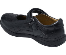 Stride Rite Claire Girls Black Leather Mary Jane School Shoes