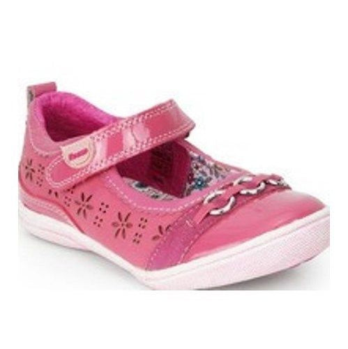 Beeko Sevita Girls Pink Leather Mary Jane Shoes SZ  8.5