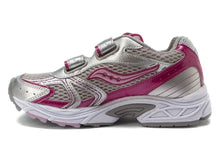 Saucony Cohesion 4 H&L Girls Pink Silver Running Shoes SZ 12.5 Wide