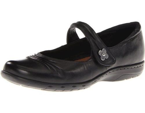 Cobb Hill Paulette Women's Black Leather Mary Jane Shoes Size 10