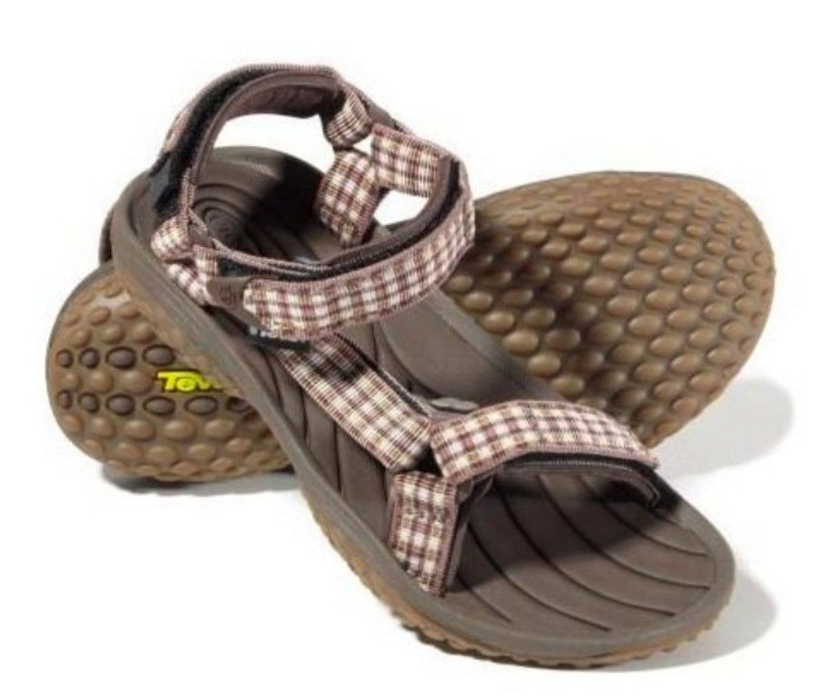 Teva Pretty Rugged Women's Brown Water Sport Sandals SZ 10