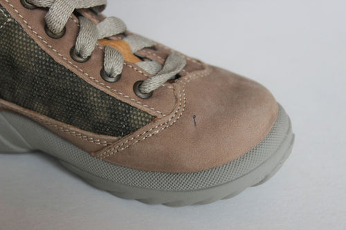 Minibel Mitch Boys Leather Walkers (New w Defect)  SZ 7 (Toddler)