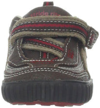 Stride Rite Calvin Boys Brown Leather Sneakers