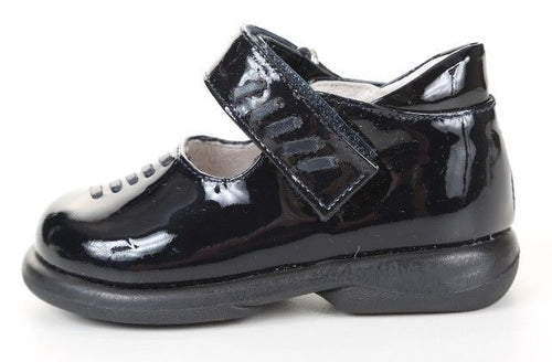 Shoe Be Doo Girls Black Patent Leather Mary Jane Dress Shoes SZ 7